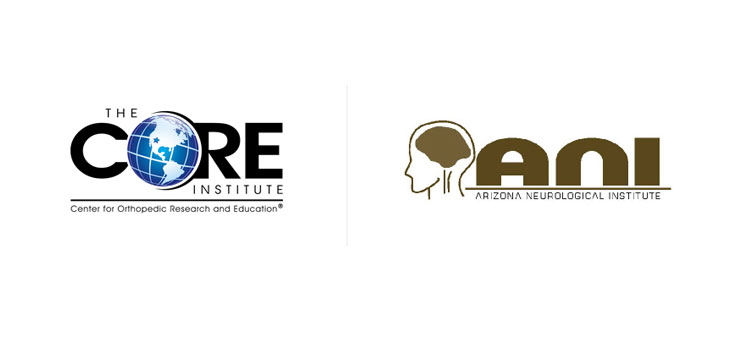Logos courtesy of The CORE Institute and The Arizona Neurological Institute