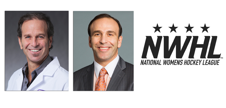Andrew Feldman, M.D. and Laith Jazrawi, M.D. / Courtesy of NYU Langone Medical Center and National Women's Hockey League